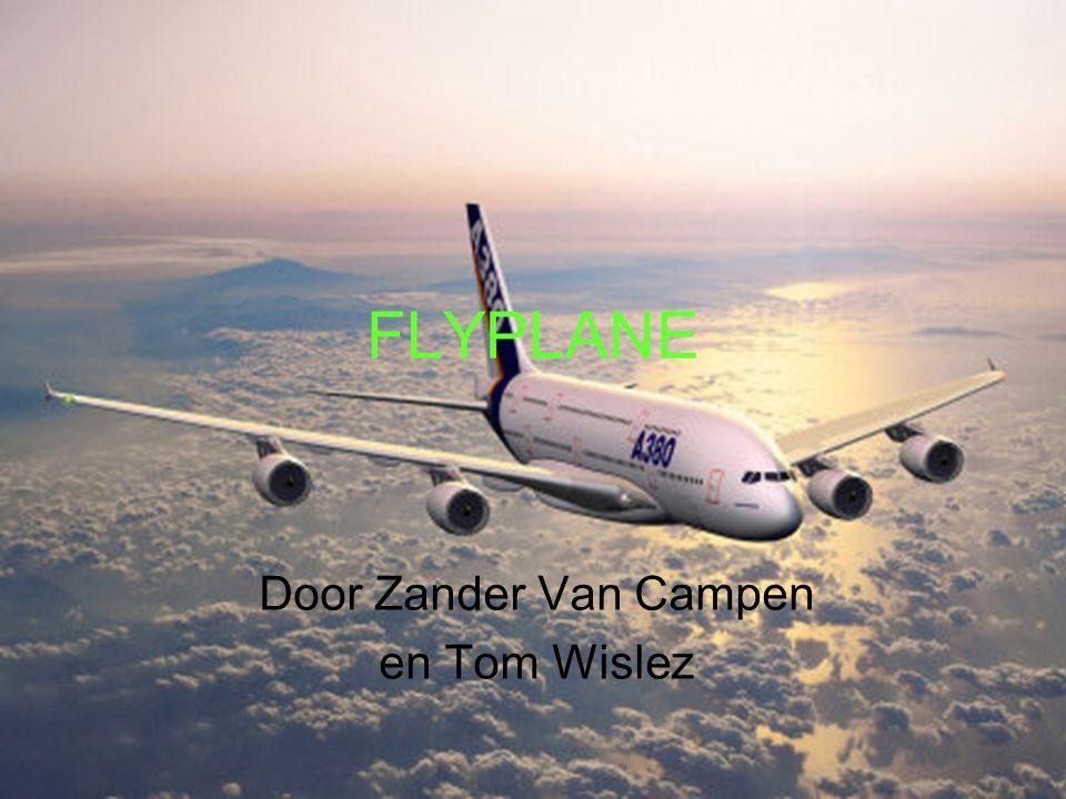 FLYPLANE Door Zander Van Campen en Tom Wislez