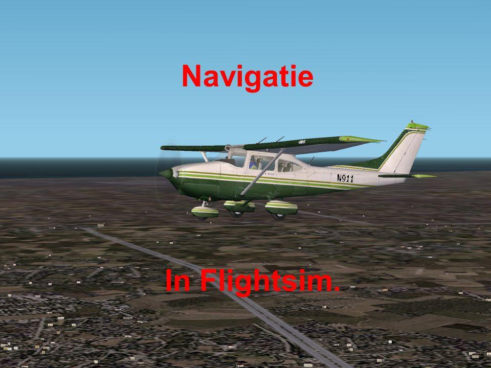 Navigatie In Flightsim.