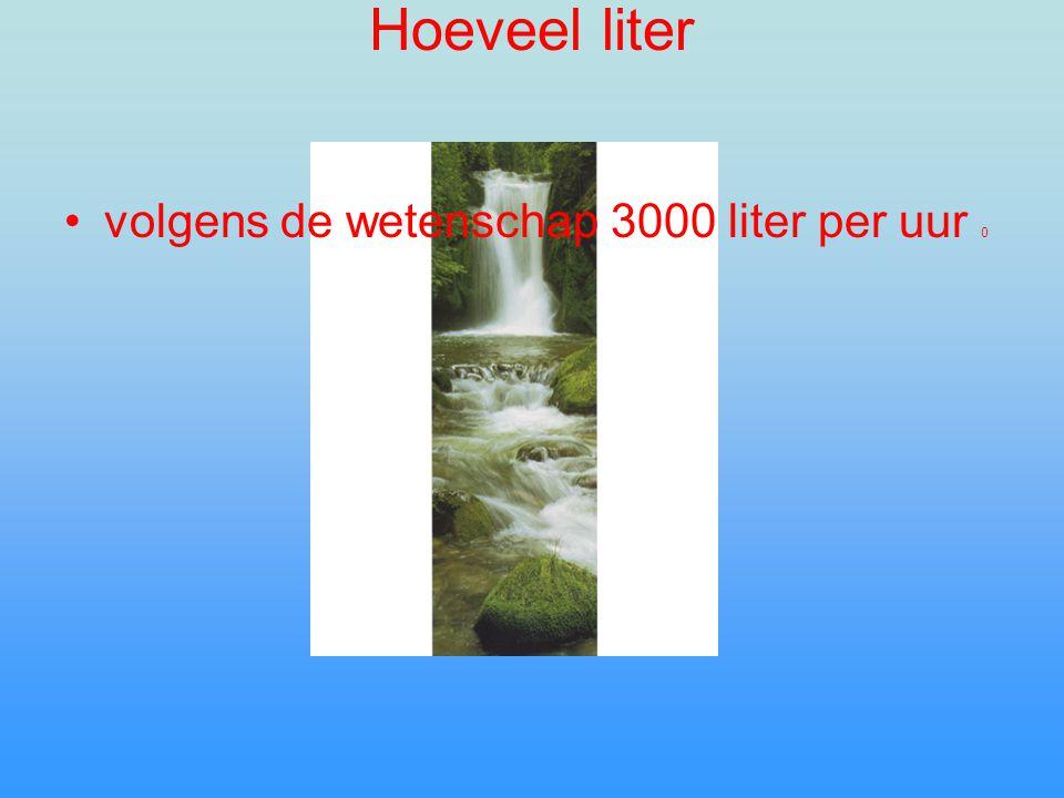 Hoe een waterval is onstaan Door rivieren van vroeger o