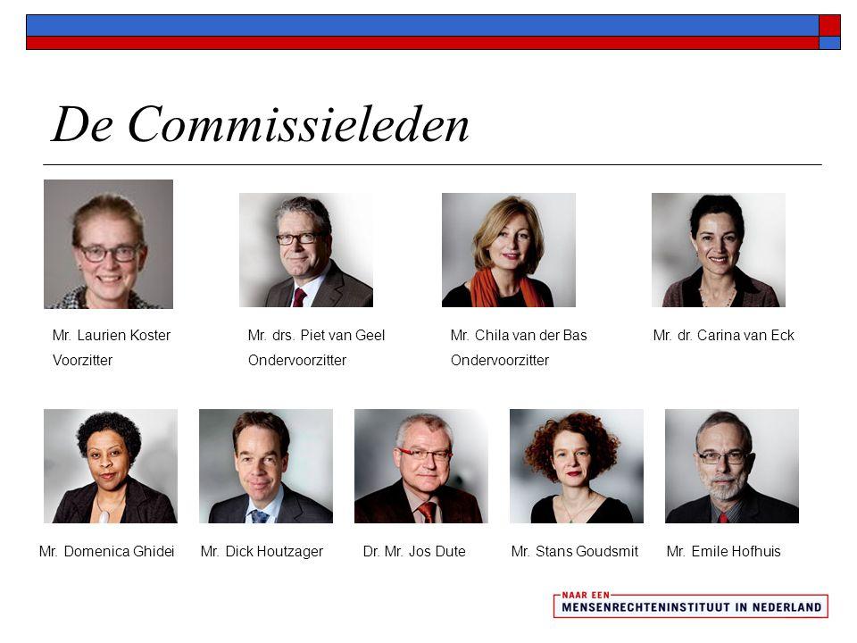 De Raad van Advies drs.Glenn Helberg mr. Wilhelmina Thomassenprof.