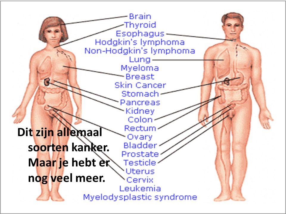 Meest voorkomende kanker in Nederland.Bij de mannen is de meest voorkomende kanker.