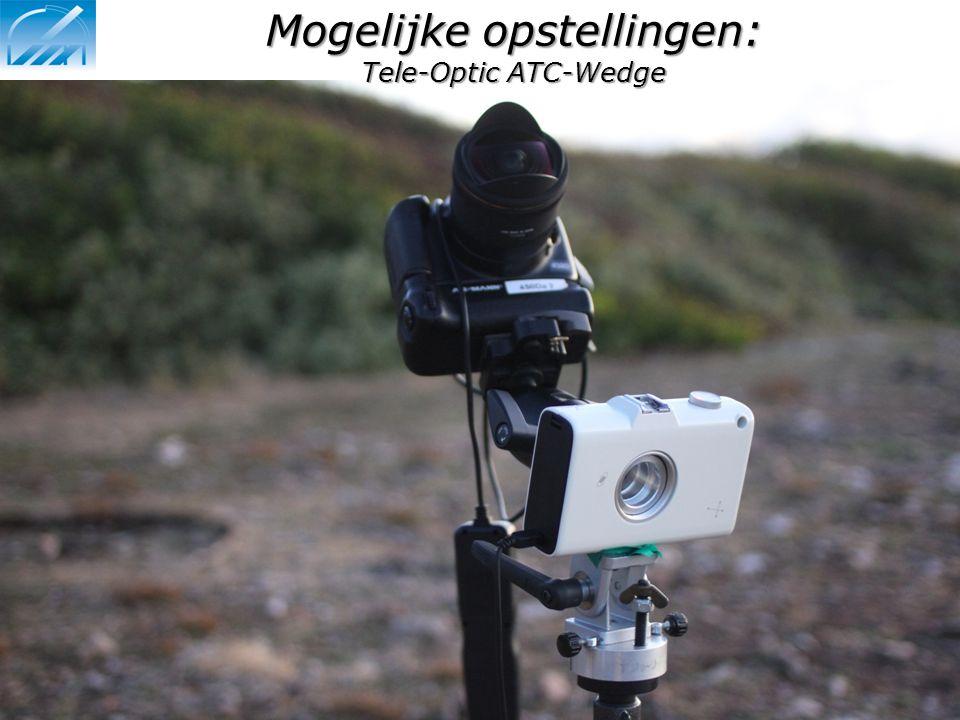 Mogelijke opstellingen: Tele-Optic ATC-Wedge