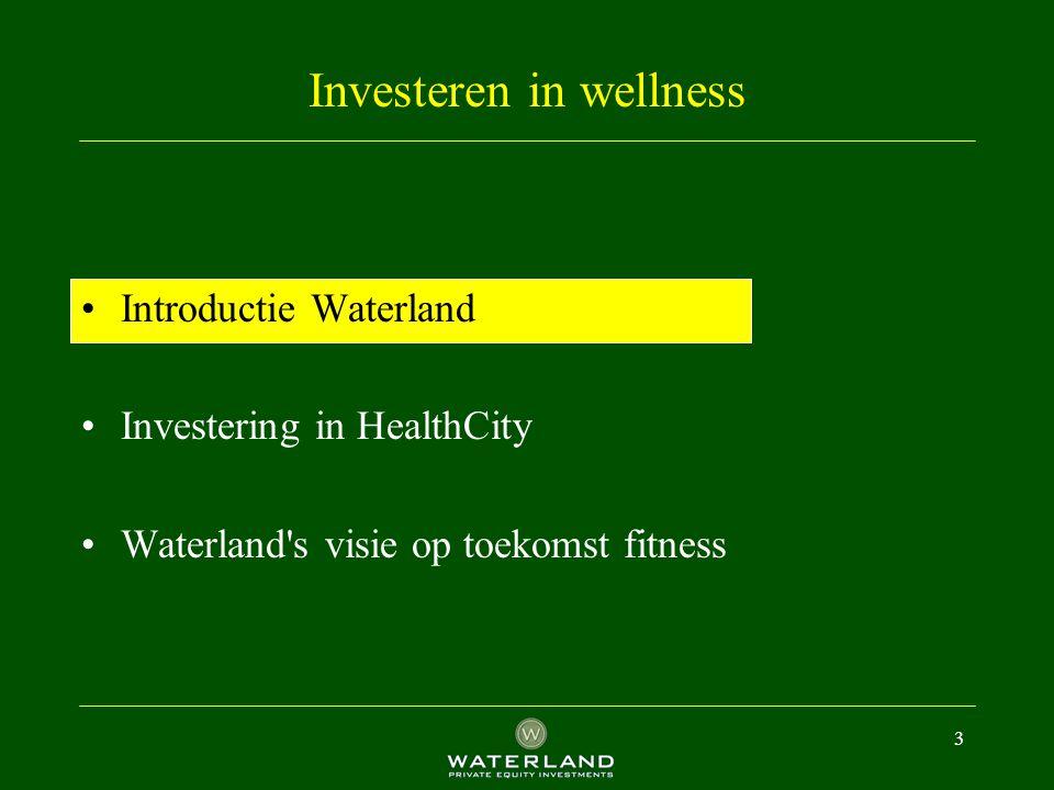 4 Waterland investeert in 3 groeimarkten....