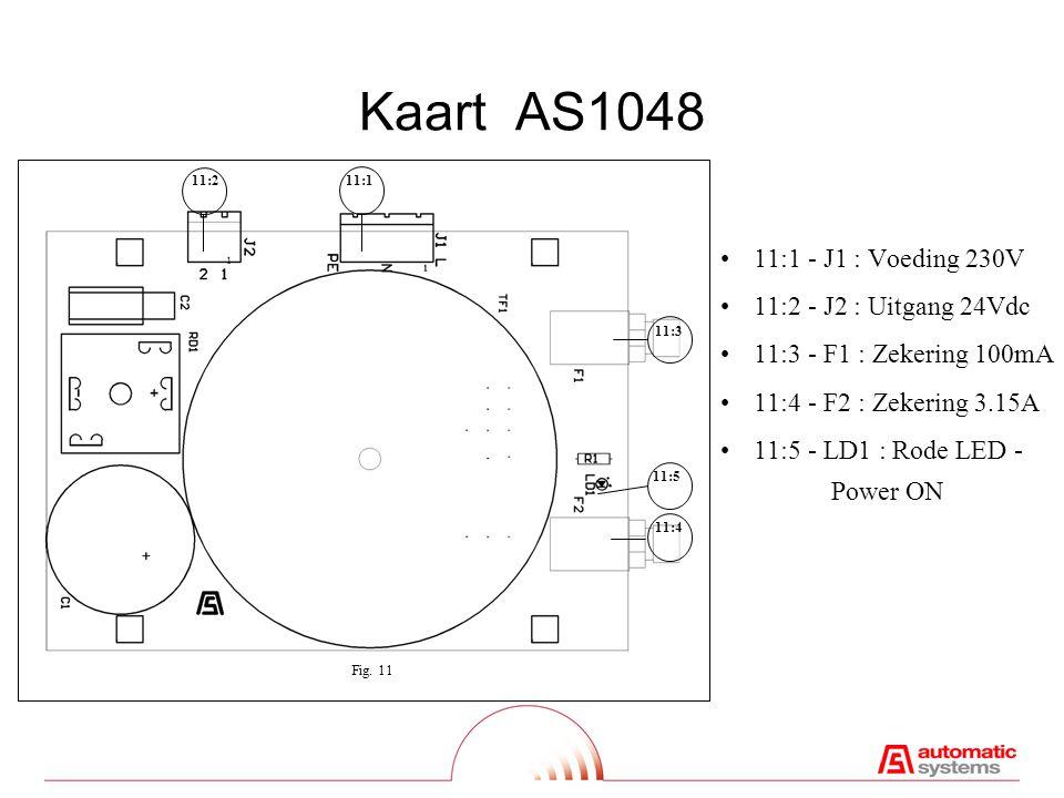 Optionele Kaart AS1210 12:1Seriële link RS232