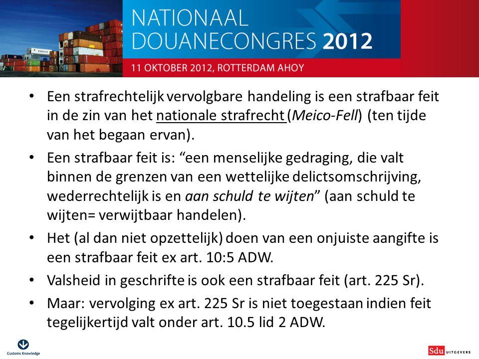 Douanestrafrecht voor niet-juristen Fiscale Strafbeschikking Uitvloeisel van Wet OM-afdoening (1 februari 2008).
