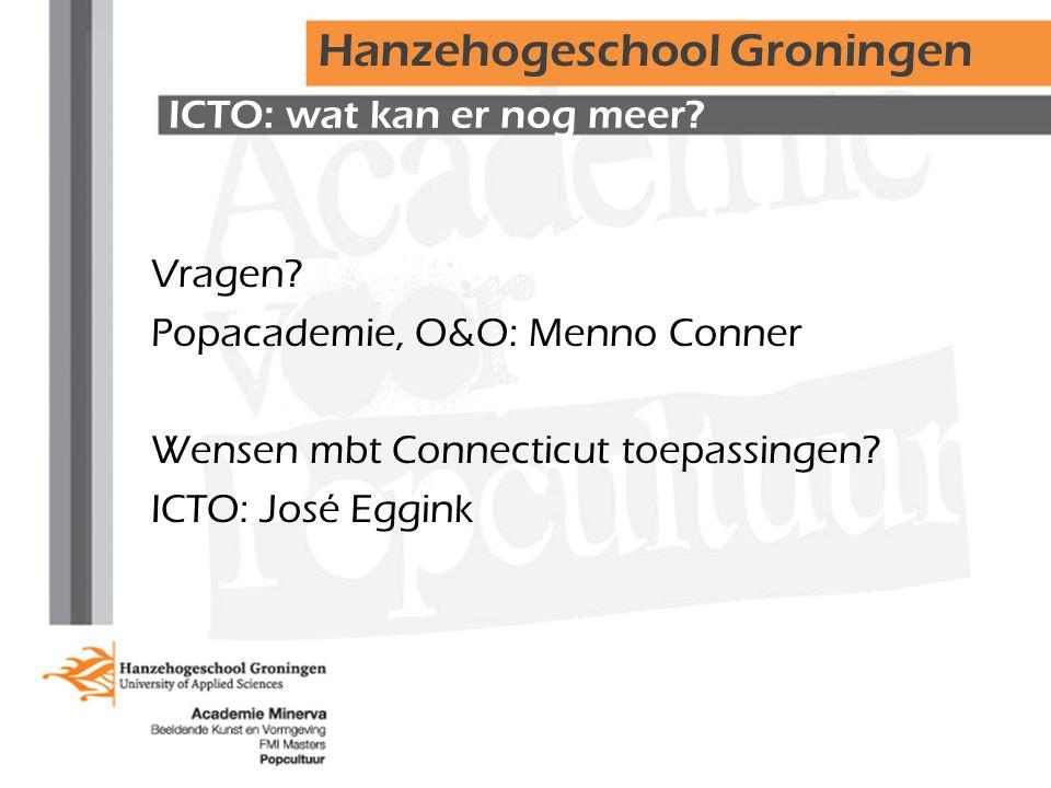 ICTO: wat kan er nog meer. Vragen.
