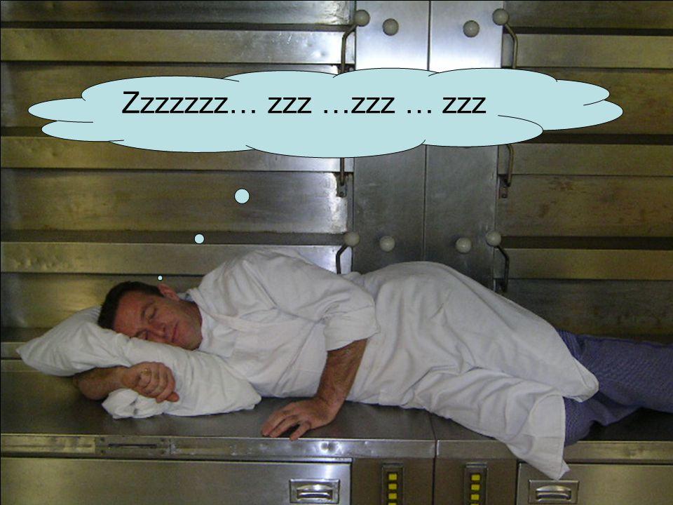 Zzzzzzz… zzz …zzz … zzz Slapen op oven