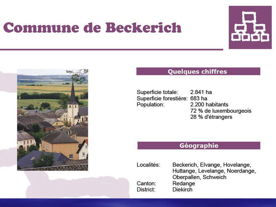 Beckerich  De burgemeester is een zeer vriendelijk man die altijd mag opgebeld worden in het duits,frans of letzeburgs door mensen die meer willen weten over zijn bestuursysteem.