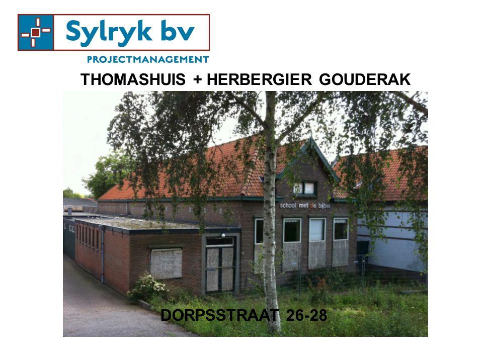 THOMASHUIS + HERBERGIER GOUDERAK DORPSSTRAAT 26-28