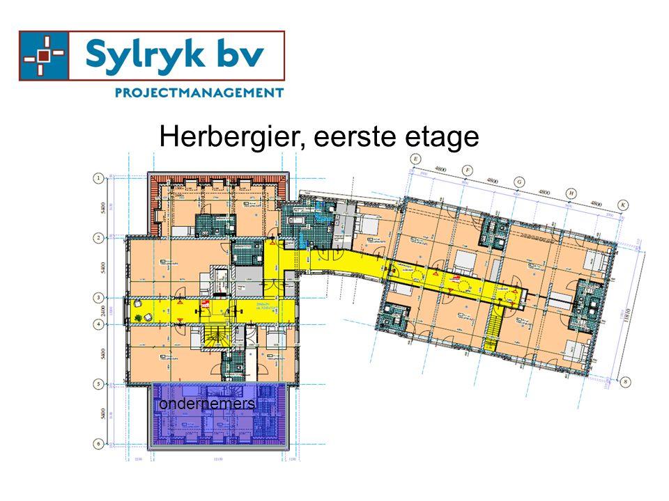 ondernemers Herbergier, eerste etage