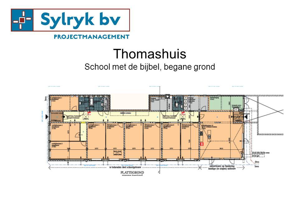 Thomashuis School met de bijbel, begane grond
