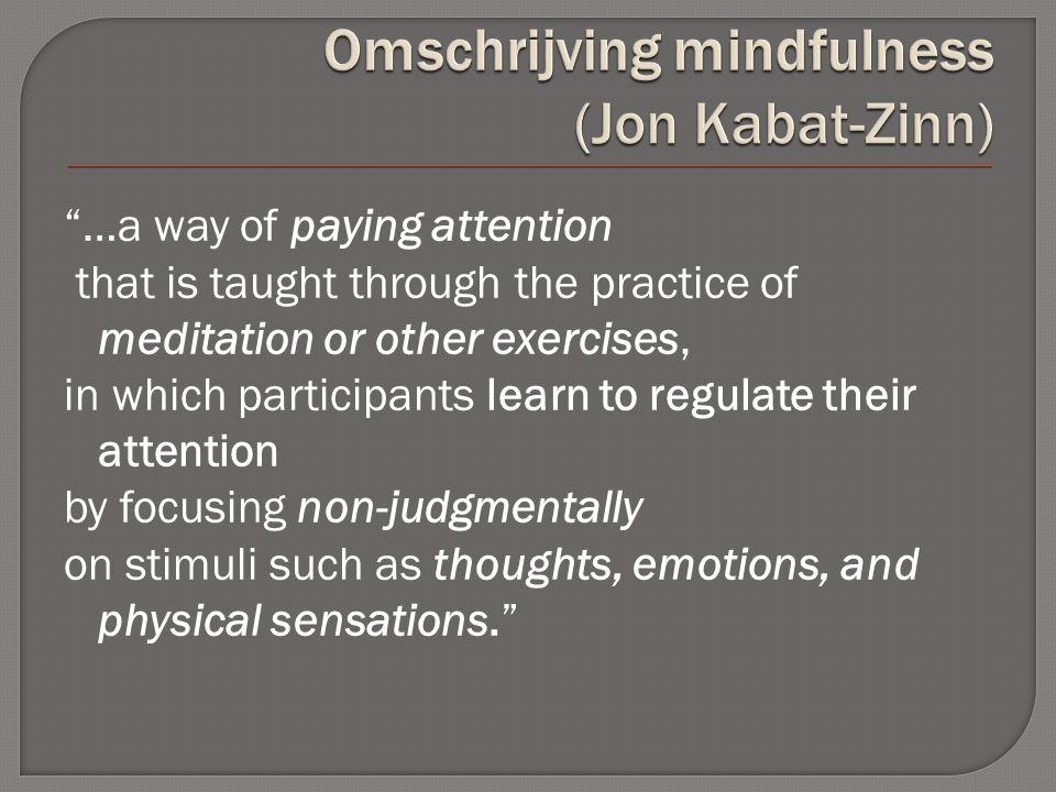 Exposure Self-focused attention Reperceiving