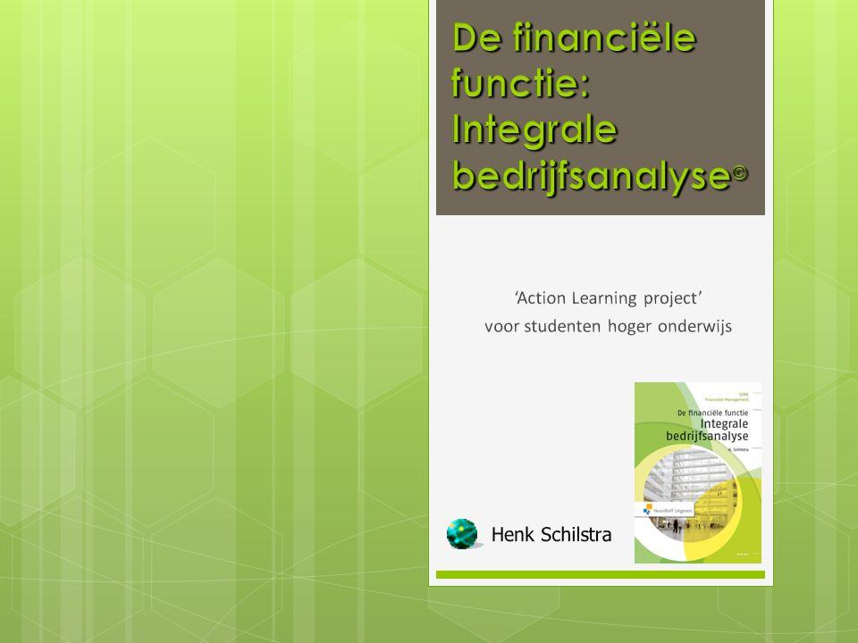 © 2014 Integrale bedrijfsanalyse 12
