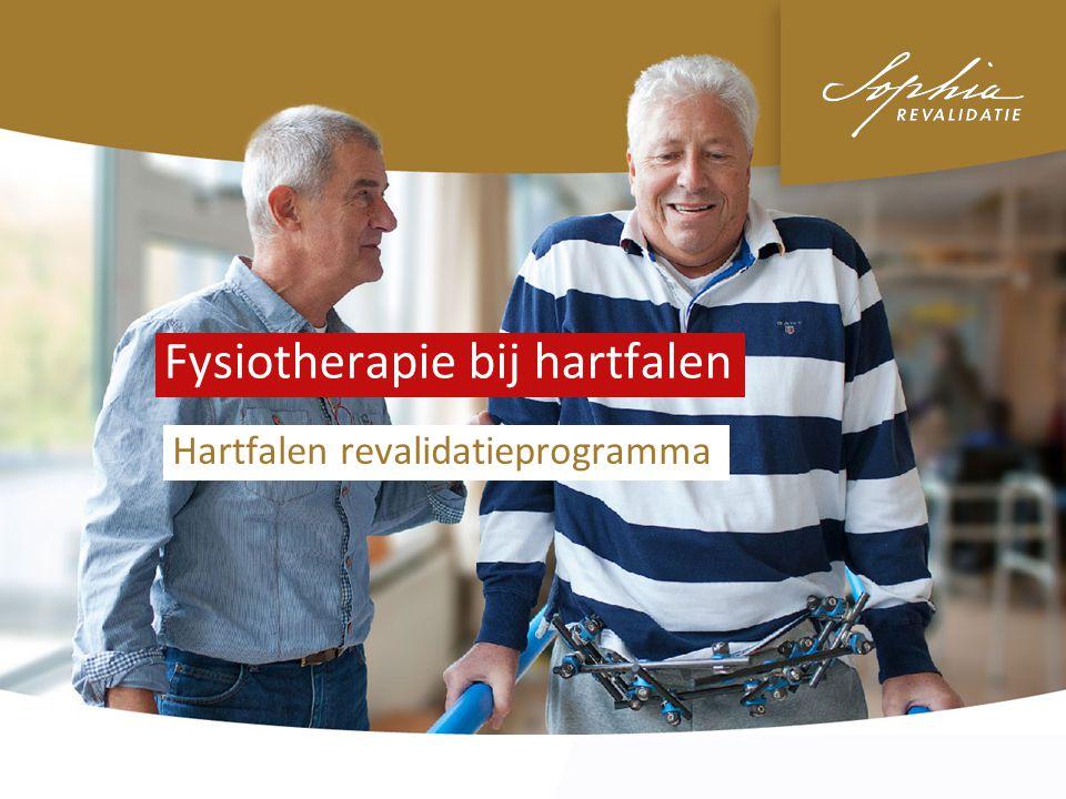 Fysiotherapie bij hartfalen Hartfalen revalidatieprogramma