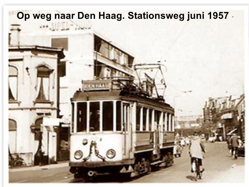 De Gele verlaat de Haarlemmerstraat september 1958