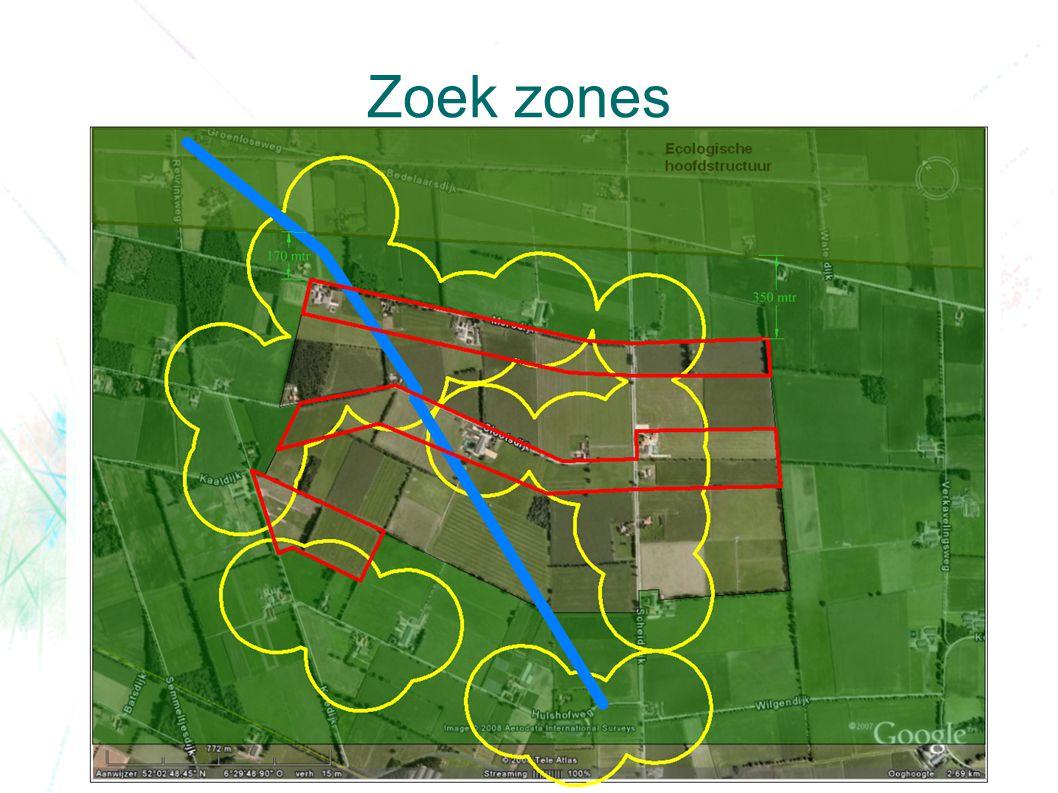 Zoek zones
