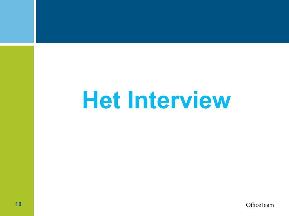 18 Het Interview
