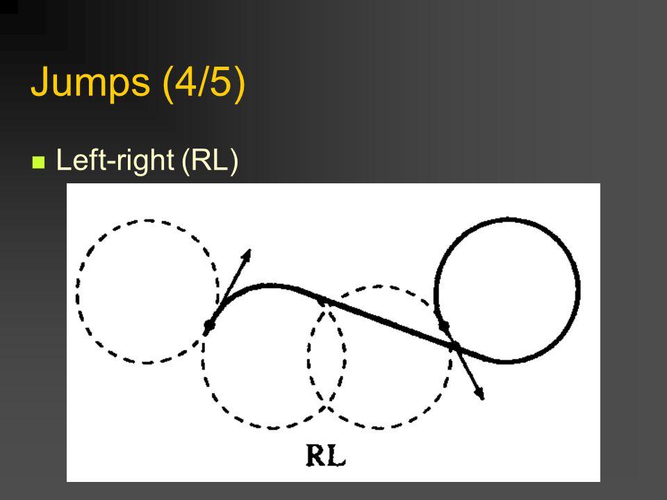 Jumps (4/5) Left-right (RL)