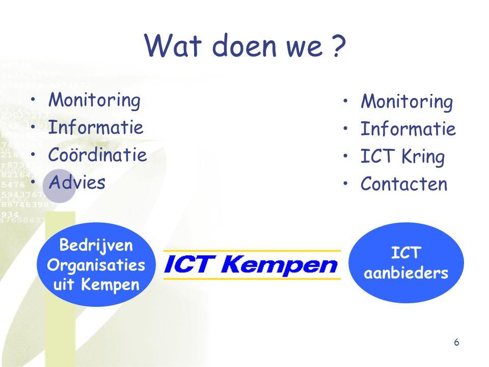 6 ICT aanbieders Bedrijven Organisaties uit Kempen Wat doen we .