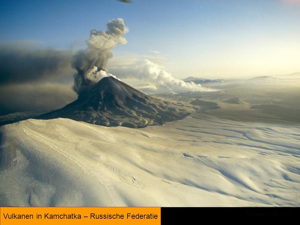 Vulkanen in Kamchatka – Russische Federatie
