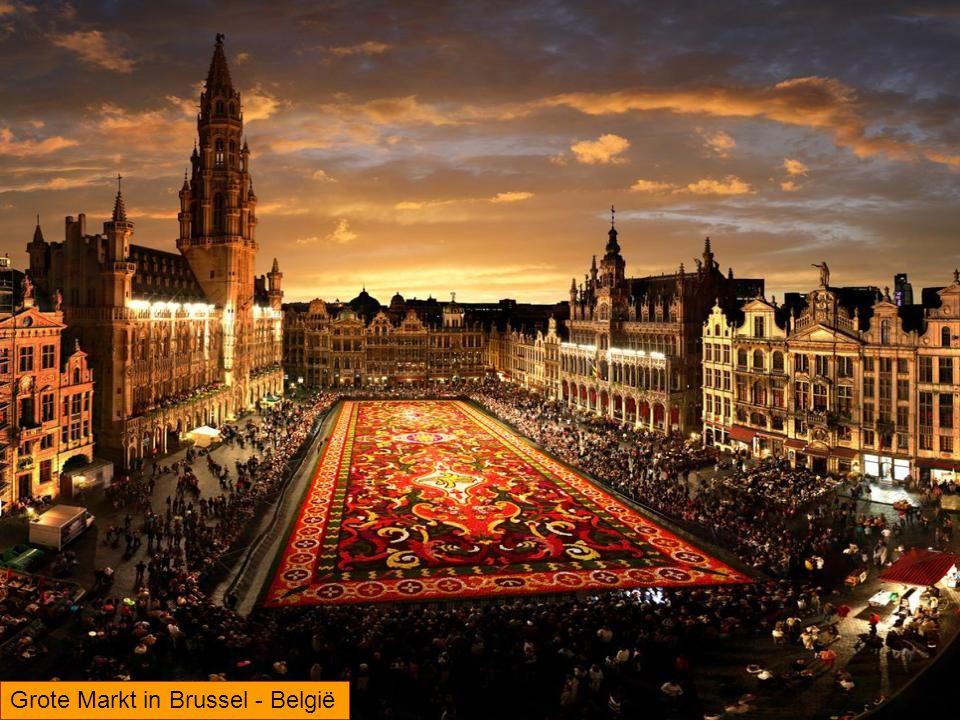 Grote Markt in Brussel - België