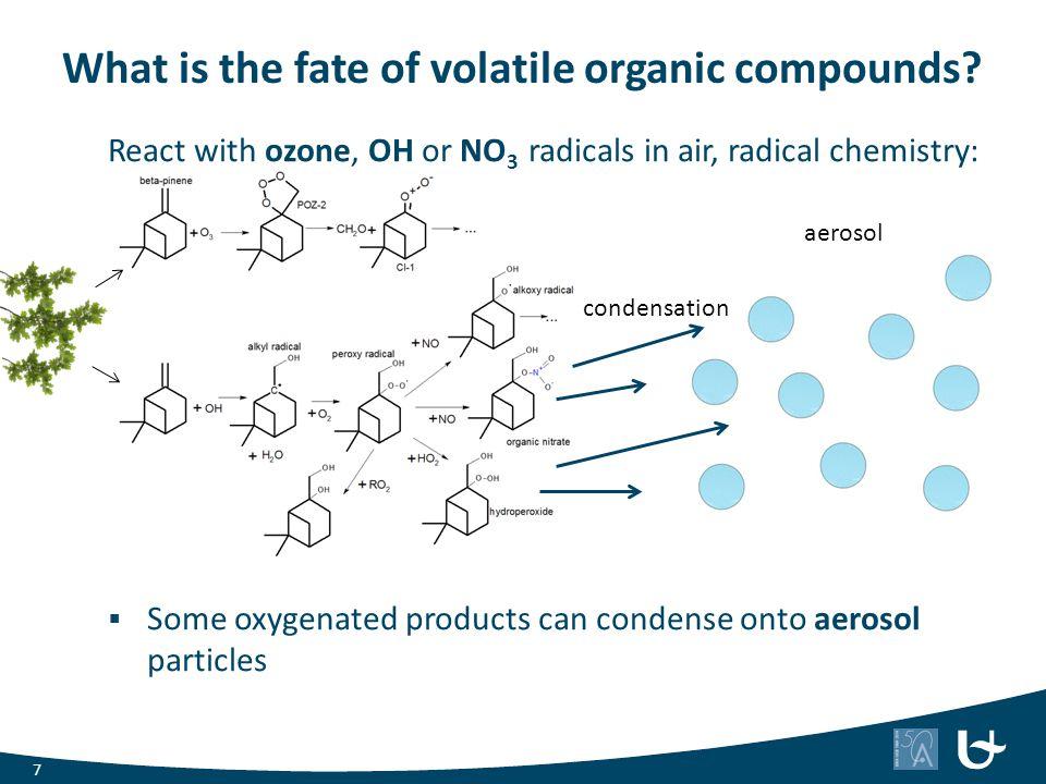 BOREAM: β-pinene photo-oxidation Carter (2000), β-pinene + NOx + UV- lamps ( ) MCM-model study Pinho et al.