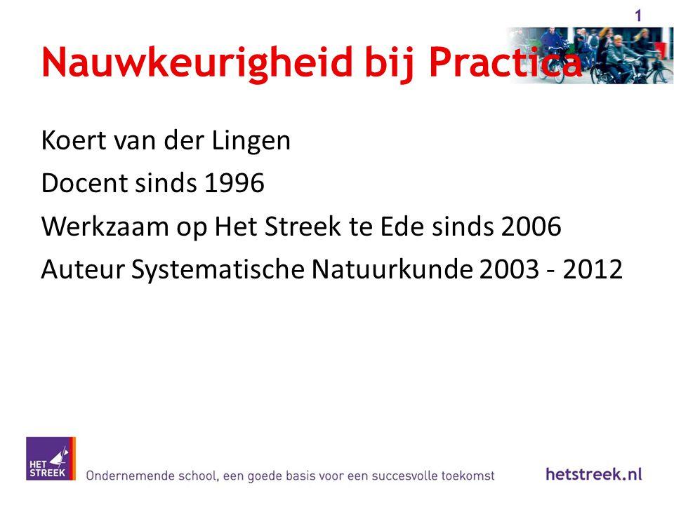 Koert van der Lingen Docent sinds 1996 Werkzaam op Het Streek te Ede sinds 2006 Auteur Systematische Natuurkunde 2003 - 2012
