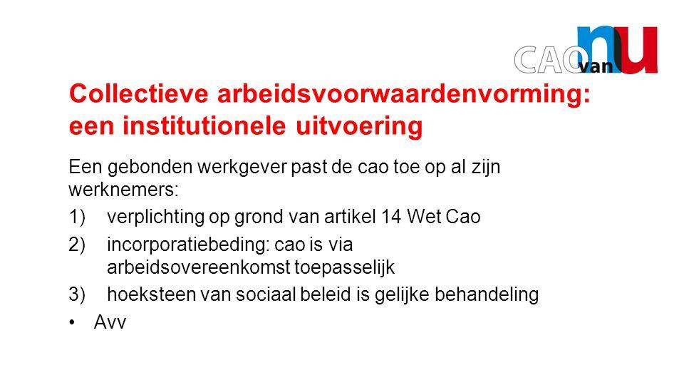Opening door Hans Legitimiteit vakbond Waarop is de legitimiteit van vakbonden gebaseerd wanneer een cao algemene werking krijgt.