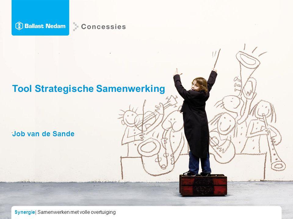 Synergie| Samenwerken met volle overtuiging Tool Strategische Samenwerking Job van de Sande