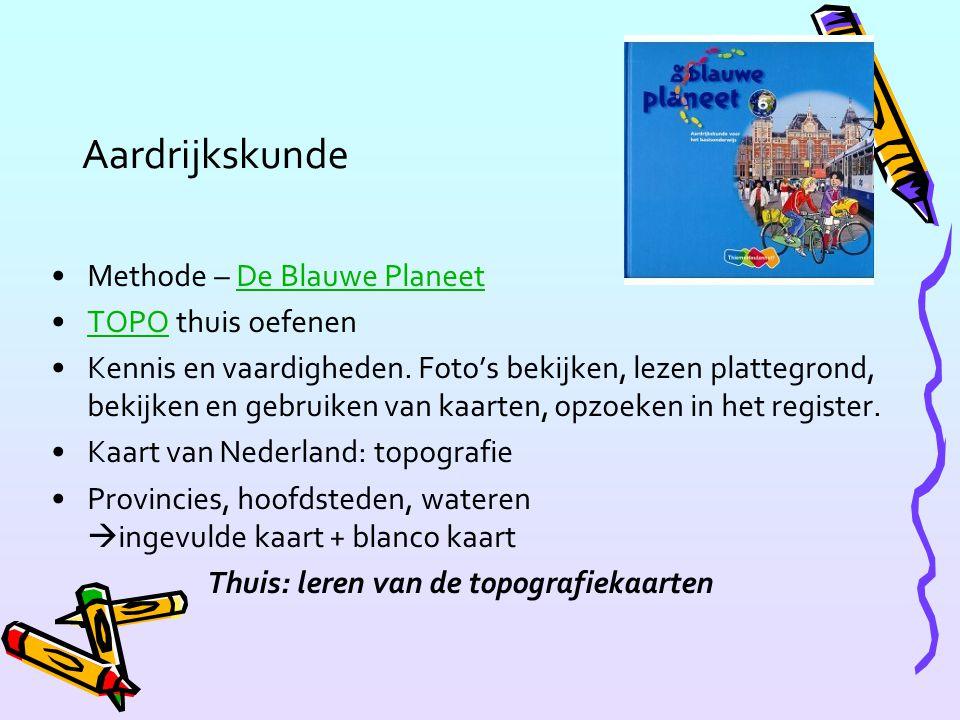 Aardrijkskunde Methode – De Blauwe PlaneetDe Blauwe Planeet TOPO thuis oefenenTOPO Kennis en vaardigheden. Foto's bekijken, lezen plattegrond, bekijke