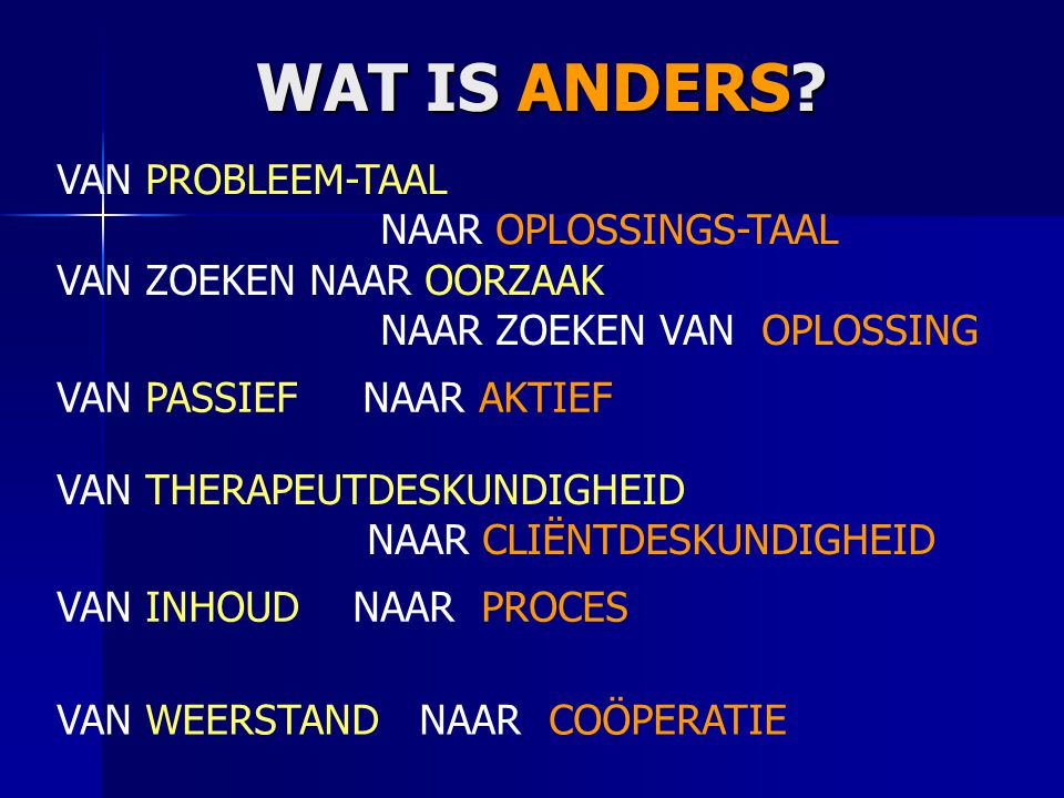 WAT IS ANDERS. WAT IS ANDERS.
