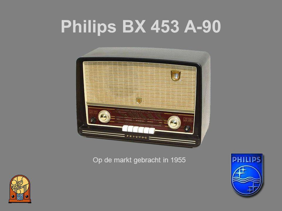 Philips BX 453 A-90 Op de markt gebracht in 1955