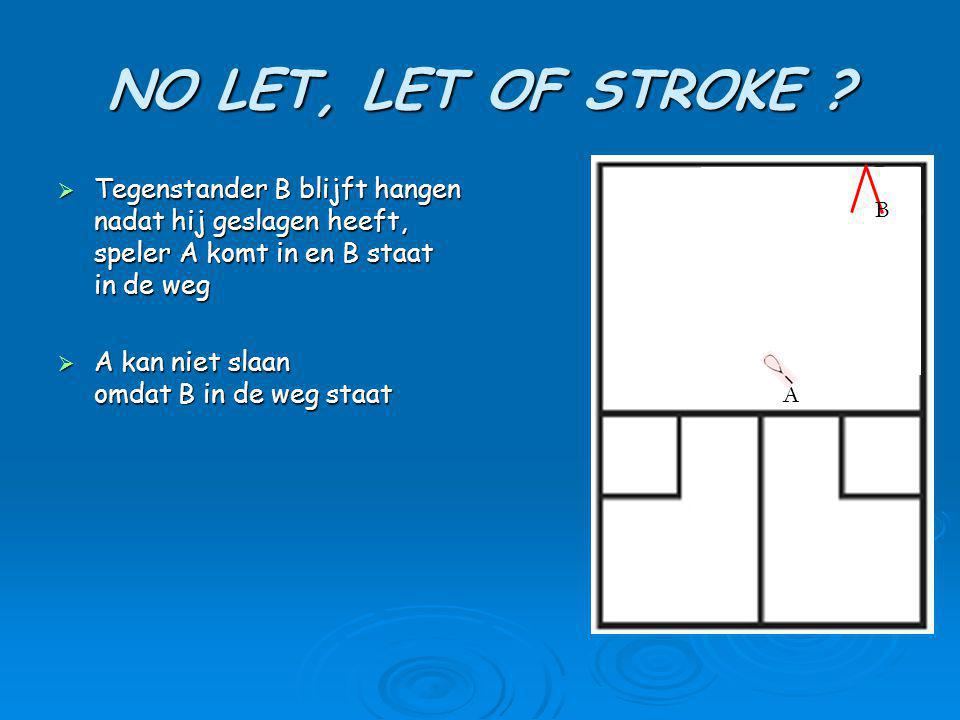 NO LET, LET OF STROKE .