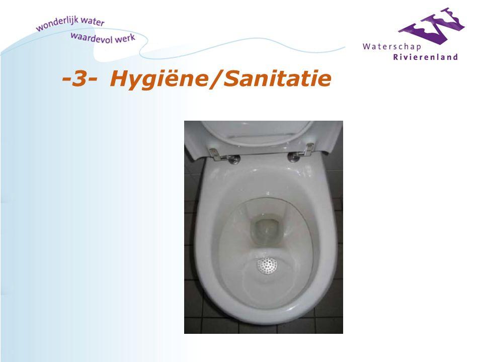 -3-Hygiëne/Sanitatie