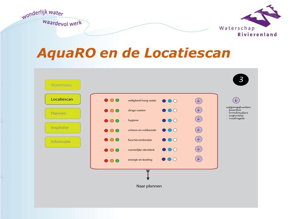 AquaRO en de Locatiescan