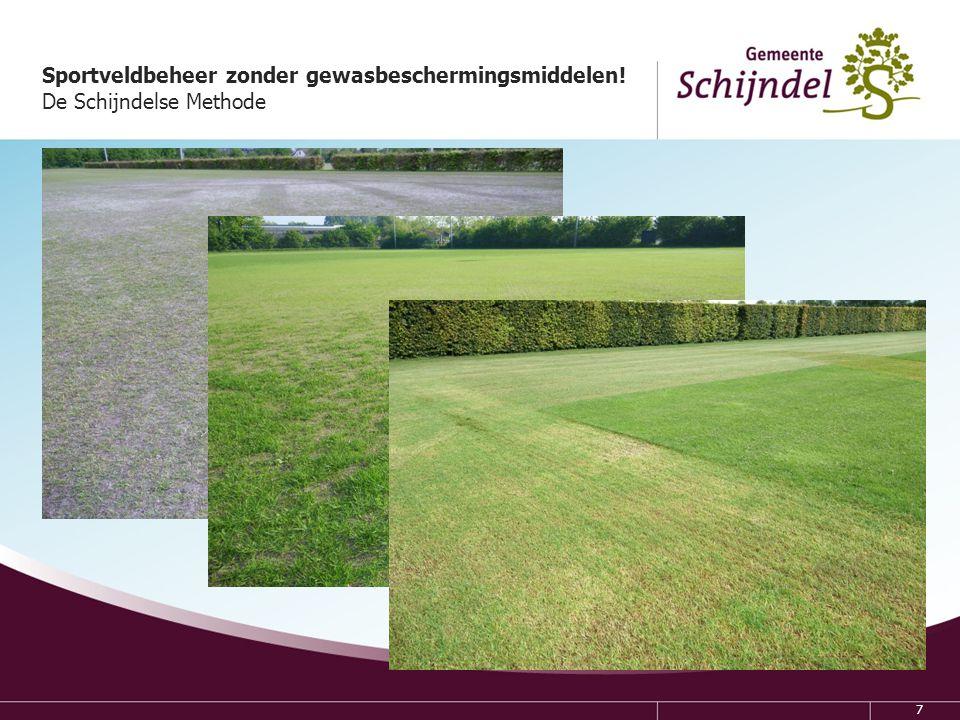 18 Sportveldbeheer zonder gewasbeschermingsmiddelen.