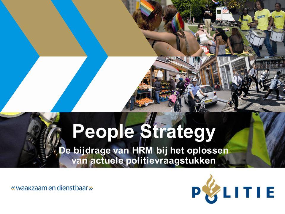 People Strategy De bijdrage van HRM bij het oplossen van actuele politievraagstukken