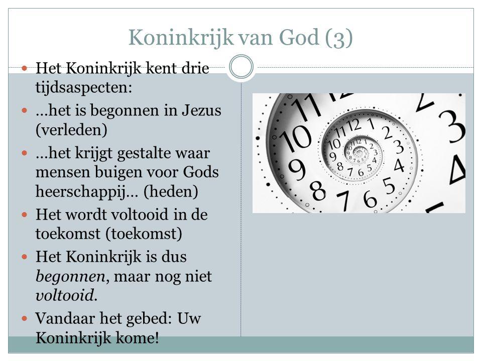 Koninkrijk van God (4) Jezus laat zien dat het Koninkrijk een heel ander karakter heeft dan de joden dachten.