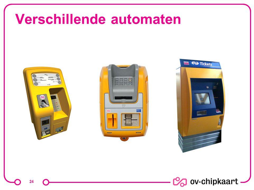 24 Verschillende automaten