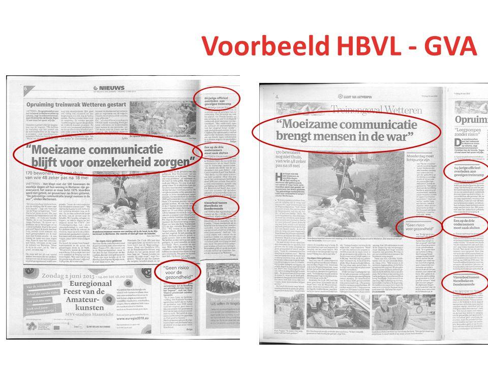 Voorbeeld HBVL - GVA Scans hier afbeelden