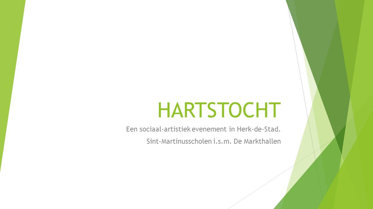 HARTSTOCHT Een sociaal-artistiek evenement in Herk-de-Stad.