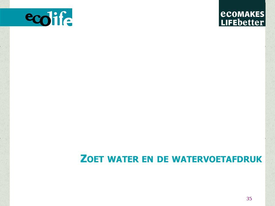 35 Z OET WATER EN DE WATERVOETAFDRUK