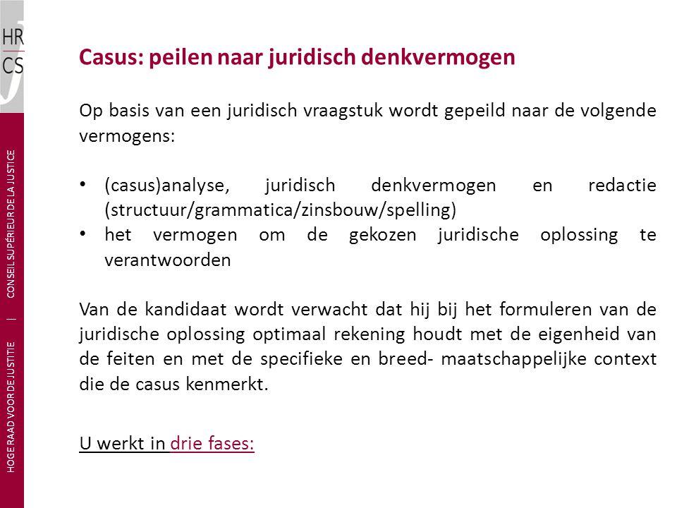 In een eerste fase geeft u een omschrijving van het maatschappelijk probleem van de voorgelegde casus.