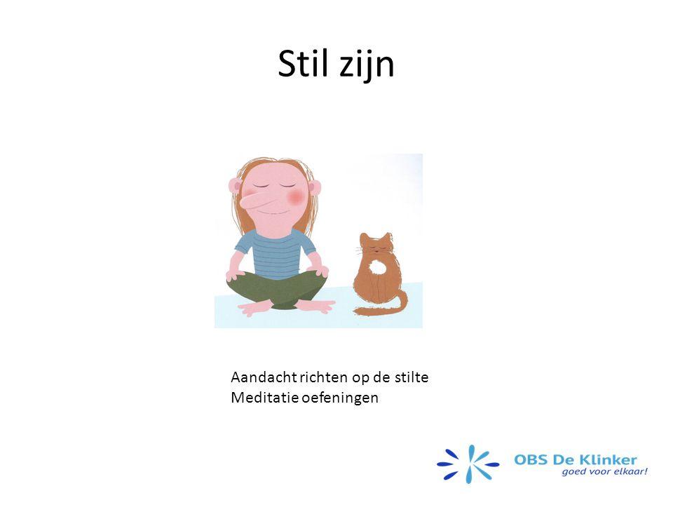 Stil zijn Aandacht richten op de stilte Meditatie oefeningen