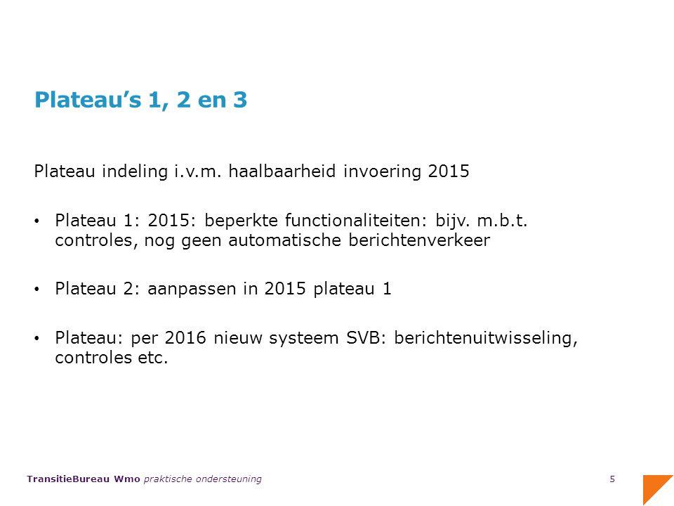 TransitieBureau Wmo praktische ondersteuning Relatiebeheerders van het Servicecentrum PGB Regio Limburg, Brabant en Zeeland.