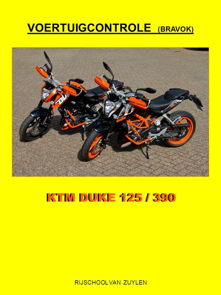 RIJSCHOOL VAN ZUYLEN VOERTUIGCONTROLE (BRAVOK) KTM DUKE 125 / 390