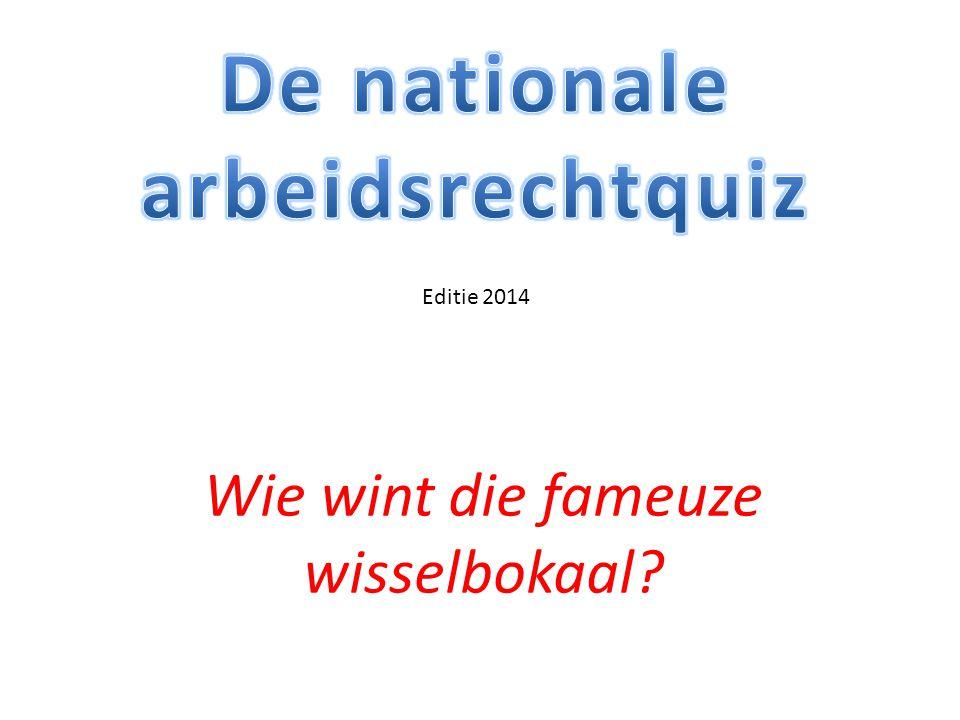 Vraag 21 Wie nam het initiatief tot de oprichting van de nationale Vereniging voor Arbeidsrecht.