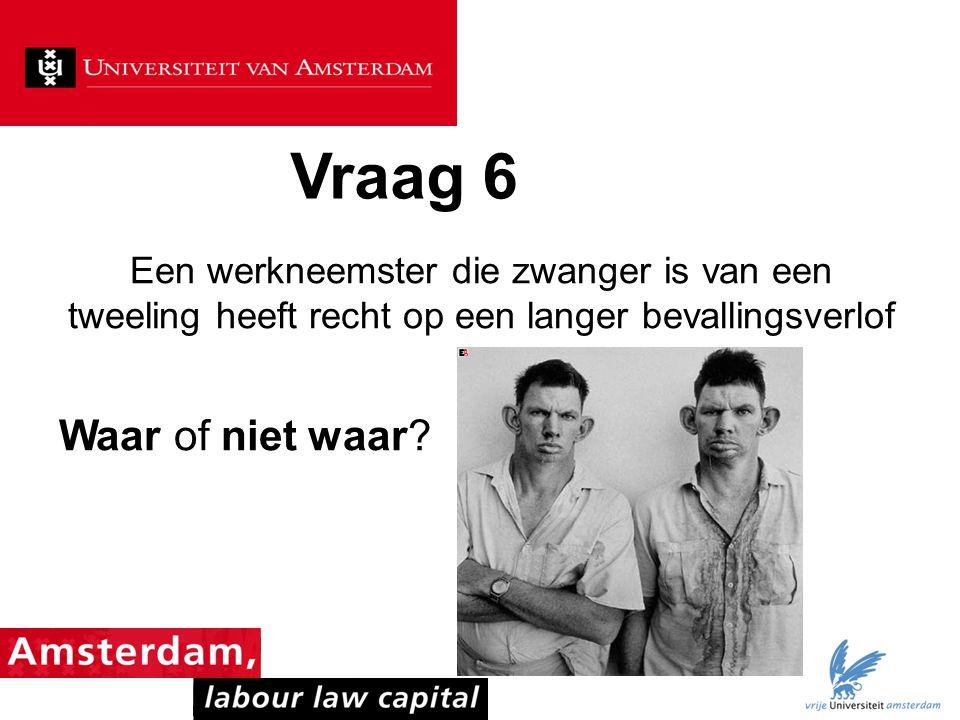 Vraag 47 Wie van de onderstaande gepromoveerden schreef nooit een arbeidsrechtelijk proefschrift.