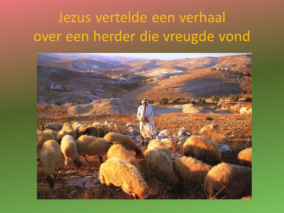 Uit het Lucasevangelie 15, 1-7 'Het waren allemaal tollenaars en zondaars die naar Jezus kwamen om naar Hem te luisteren.