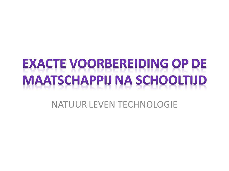 NLT is een exact vak in de bovenbouw van de Havo en de VWO en staat voor Natuur, Leven en Technologie.